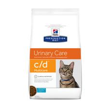 Hills Prescription Diet C/d Multicare Feline Urinary Care Ocean Fish Dry Food 1.5kg To 5kg