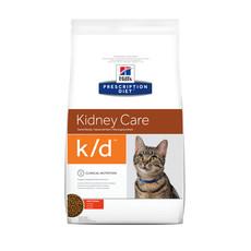Hills Prescription Diet K/d Feline Kidney Care Chicken Dry Food 1.5kg To 5kg