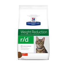 Hills Prescription Diet R/d Feline Weight Reduction Chicken Dry Food 1.5kg To 5kg