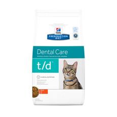 Hills Prescription Diet T/d Feline Dental Care Chicken Dry Food 1.5kg To 5kg