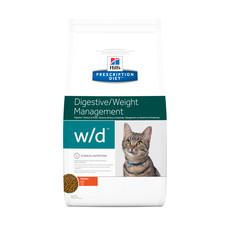 Hills Prescription Diet W/d Feline Digestive Weight Management Chicken Dry Food 1.5kg To 5kg