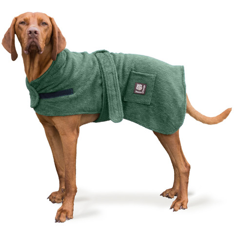 Danish Design Super Absorbable Dog Towel Robe 12 Inch