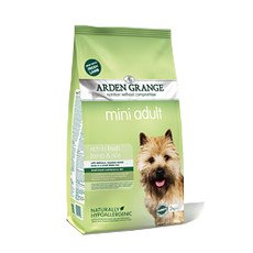 Arden Grange Mini Lamb And Rice Dry Dog Food 2kg