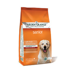 Arden Grange Senior Chicken Dry Dog Food 12kg