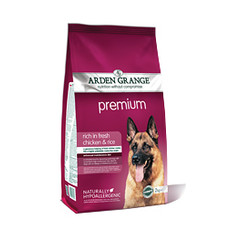 Arden Grange Premium Dry Dog Food 12kg
