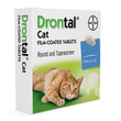 Drontal Cat Worming Tablets 1 Tab To 2 Tab