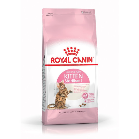 Royal Canin Second Age Kitten Sterilised Food 400g To 2kg