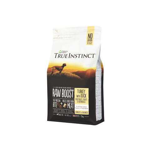 Natures Menu True Instinct Raw Boost Turkey And Duck Dry Dog Food 1.5kg