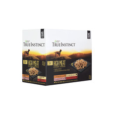 (d) Natures Menu True Instinct High Meat Fillet Pouch Adult Multipack Dog Food 8 X 300g