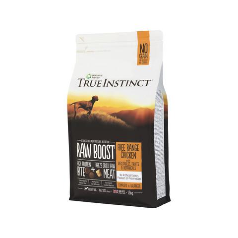 Natures Menu True Instinct Raw Boost Chicken Dry Dog Food 1.5kg