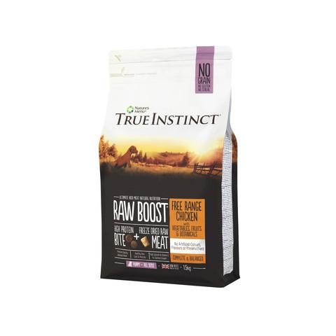 Natures Menu True Instinct Raw Boost Chicken Dry Puppy Food 1.5kg