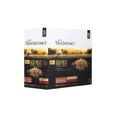 Natures Menu True Instinct High Meat Fillet Pouch Small Breed Multipack Dog Food 8x150g