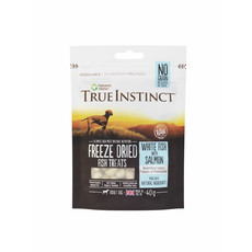 Natures Menu True Instinct Salmon And White Fish Freeze Dried Dog Treats 40g