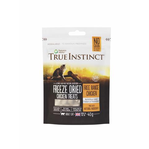 Natures Menu True Instinct Chicken Freeze Dried Cat Treats 40g