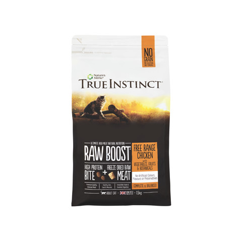 Natures Menu True Instinct Raw Boost Chicken Cat Food 1.5kg