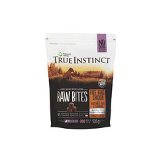 Natures Menu True Instinct Raw Bites Chicken Frozen Puppy Food 500g