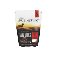 Natures Menu True Instinct Raw Bites Beef Frozen Dog Food 1.2kg