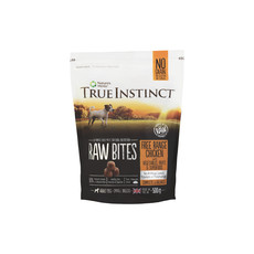 Natures Menu True Instinct Raw Bites Chicken Frozen Small Breed Dog Food 500g