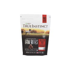 Natures Menu True Instinct Raw Bites Beef Frozen Small Breed Dog Food 500g