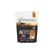 Natures Menu True Instinct Raw Bites Chicken Frozen Cat Food 500g