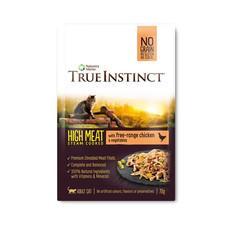 Natures Menu True Instinct High Meat Fillet Free Range Chicken Adult Cat Pouches 8 X 70g