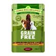 James Wellbeloved Grain Free Adult Turkey Wet Food Pouch 100g To 12 X 100g