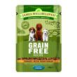 James Wellbeloved Grain Free Puppy Turkey Wet Food Pouch 100g To 12 X 100g