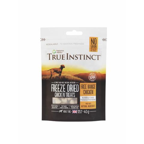 Natures Menu True Instinct Chicken Freeze Dried Dog Treats 40g