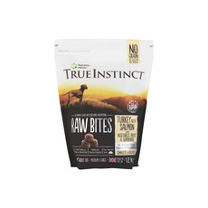 Natures Menu True Instinct Raw Bites Turkey And Salmon Frozen Dog Food 1.2kg