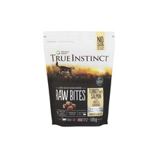 Natures Menu True Instinct Raw Bites Turkey And Salmon Frozen Cat Food 500g