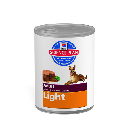 Hills Science Plan Adult Light Dog Food Can With Chicken