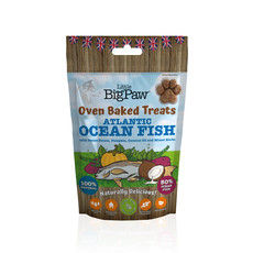 Little Big Paw Oven Baked Atlantic Ocean Fish Treats For Dogs 130g