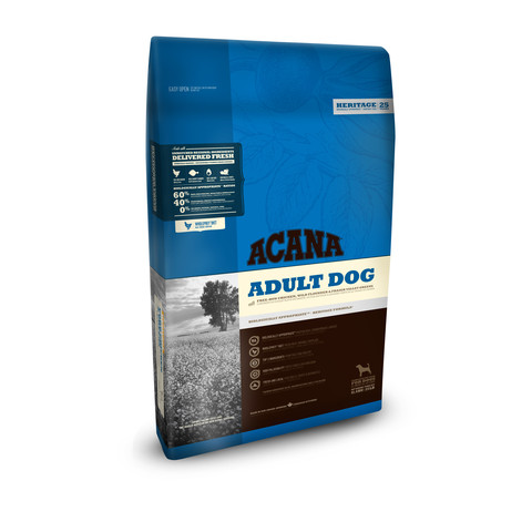 Acana Heritage Grain Free All Breeds Adult Dog Food (formerly Cobb Chicken And Greens) 11.4kg