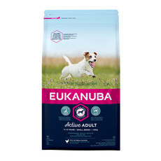 Eukanuba Active Adult Small Breed Chicken Dog Food 2kg