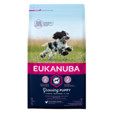 Eukanuba Growing Puppy Medium Breed Chicken 2kg