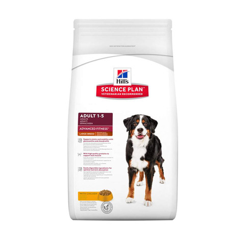 Hills Science Plan Canine Adult Advanced Fitness Large Breed With Chicken 3kg To 2 X 12kg