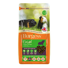 Burgess Excel Guinea Pig Nuggets With Mint 2kg To 10kg