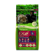 Burgess Excel Mature Rabbit Nuggets With Cranberry And Ginseng 2kg