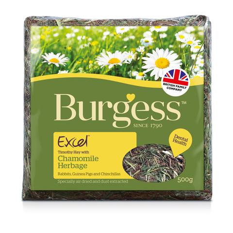 Burgess Excel Chamomile Feeding Hay Herbage 500g To 5 X 500g