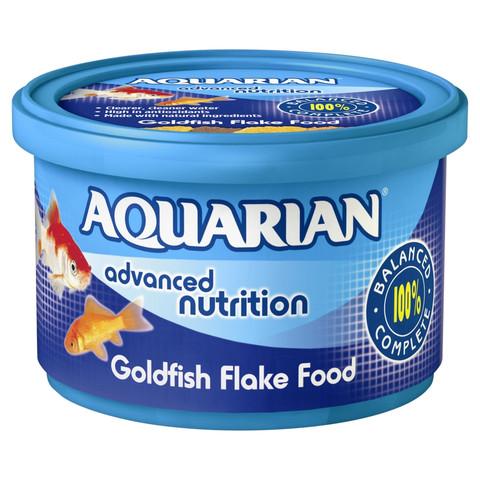 Aquarian Goldfish Flake Food 25g To 200g