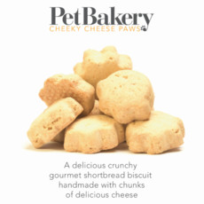 Pet Bakery Cheeky Cheese Paws Dog Treats 190g