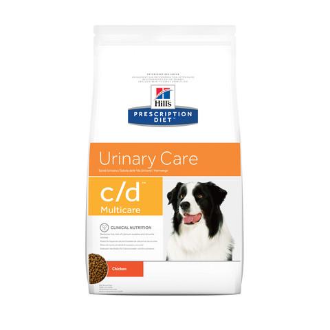 Hills Prescription Diet C/d Multicare Canine Urinary Care Chicken Dry Food 2kg To 12kg