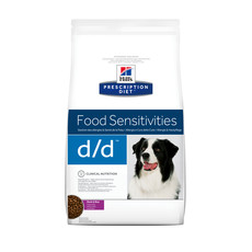 Hills Prescription Diet D/d Canine Food Sensitivities Duck Dry Food 2kg To 12kg