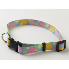 Yellow Dog Design Fashion Circles Adjustable Dog Collar X Small To Large