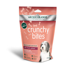 Arden Grange Salmon Crunchy Bites Dog Treats 225g