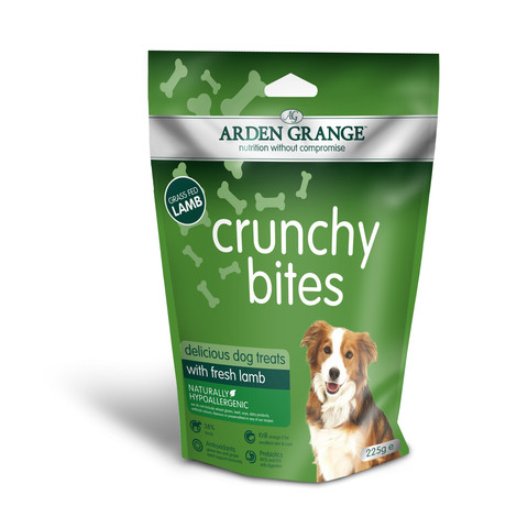 Arden Grange Lamb Crunchy Bites Dog Treats 225g