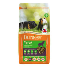 Burgess Excel Guinea Pig Nuggets With Mint 4kg