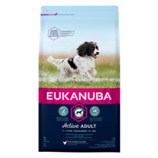Eukanuba Active Adult Medium Breed Chicken Dog Food 2kg