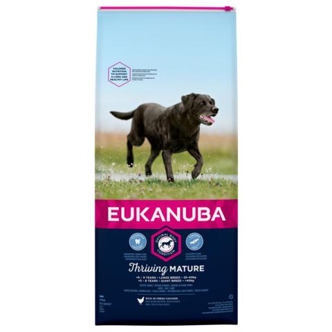 Eukanuba Thriving Mature Large Breed Chicken Dog Food 12kg