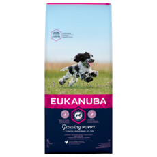 Eukanuba Growing Puppy Medium Breed Chicken Dog Food 12kg